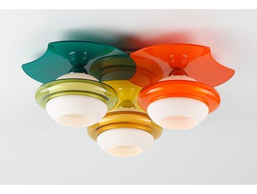 Декоративный светильник Rivoli 1994-Amalia-C-3xE27-40W-Multicolor