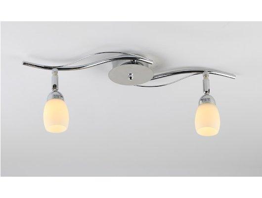 Декоративный светильник Rivoli Capri-W/С-2хG9-40W-Chrome