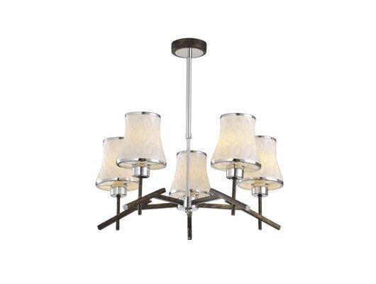 Декоративный светильник Rivoli Caribia-C-5xE14-40W-brown