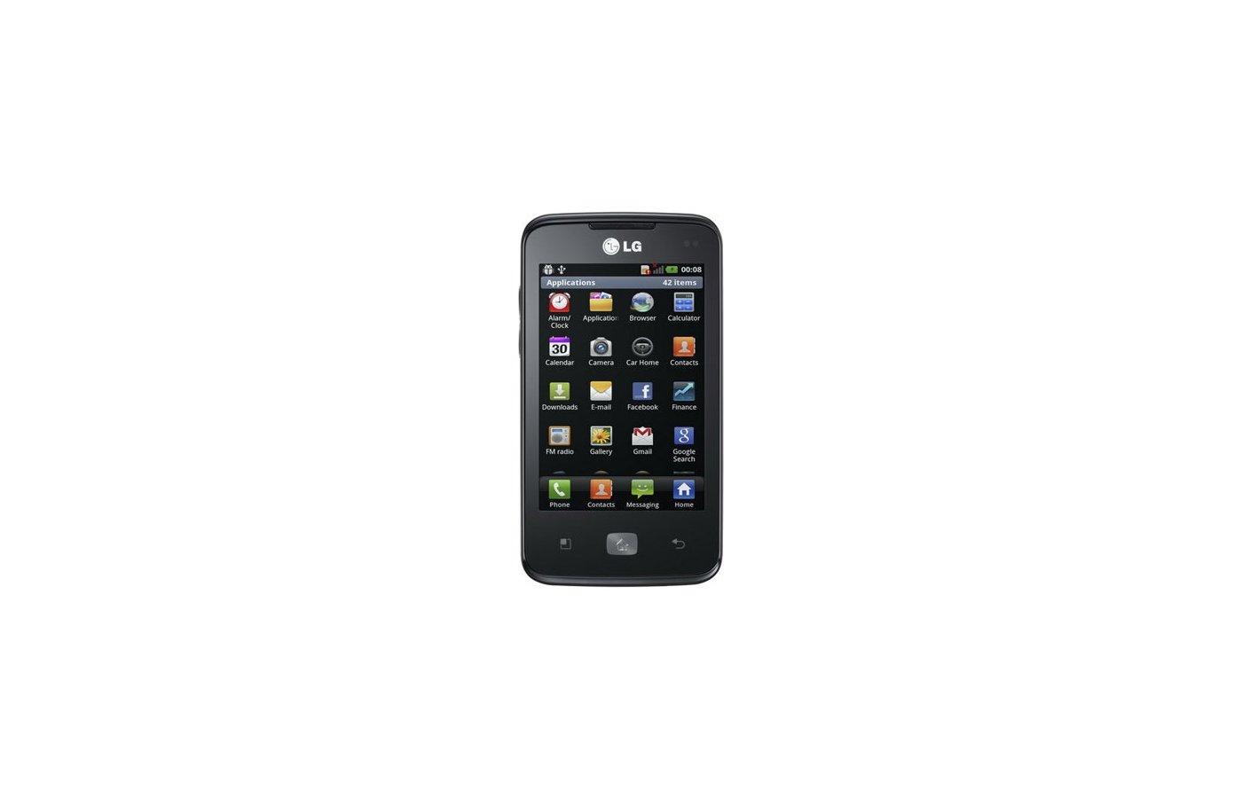 Смартфон LG E510 Black