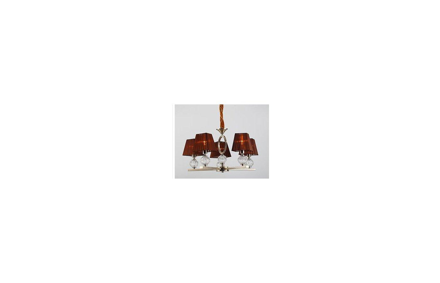 Декоративный светильник Rivoli 1949-Liticia-P-5XE14-60W-Antique brass