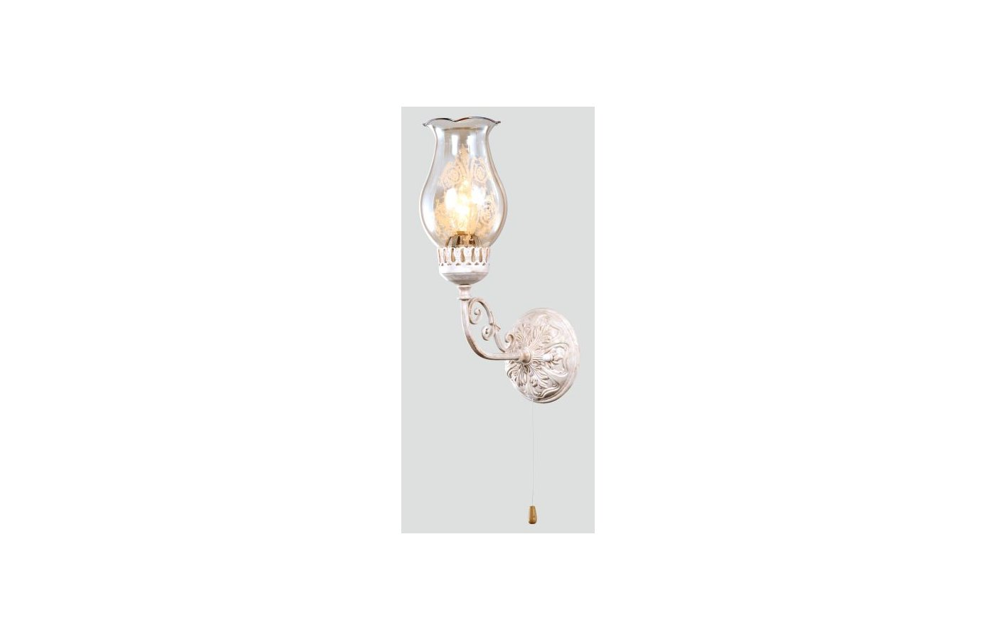 Декоративный светильник Rivoli Ada-W-1хE14-60W-Аntique white