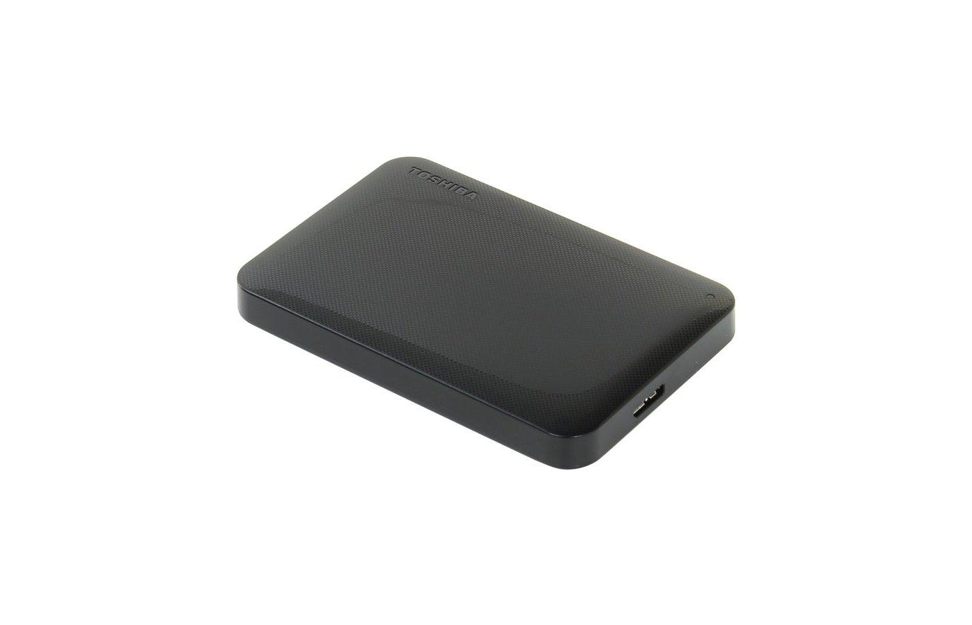 Внешний жесткий диск Toshiba HDTP205EK3AA 500Gb USB 3.0 Canvio Ready 2.5 черный