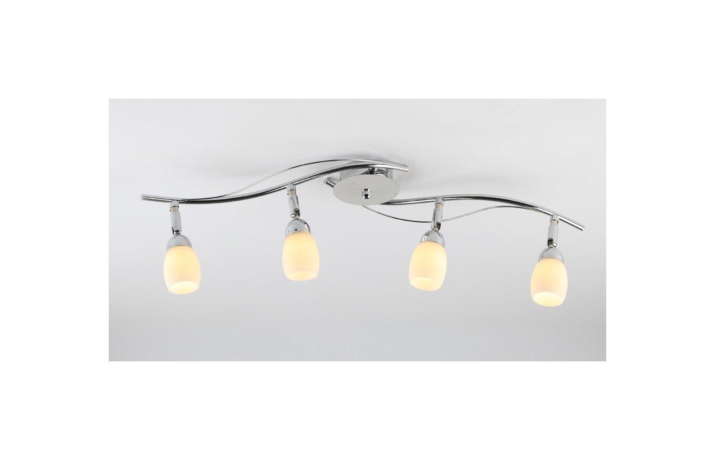 Декоративный светильник Rivoli Capri-C-line-4хG9-40W-Chrome