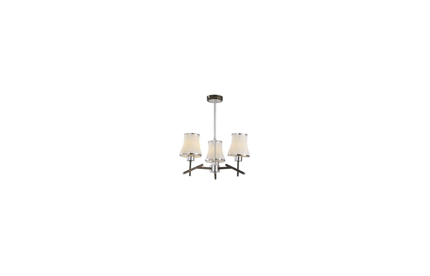 Декоративный светильник Rivoli Caribia-C-3xE14-40W-brown