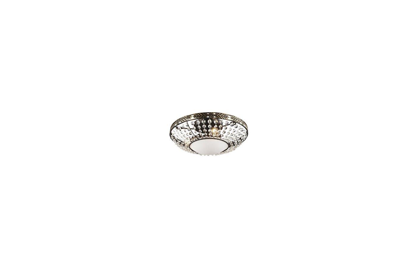 Декоративный светильник Rivoli Diamante-C-3xE14-60W-Brown copper