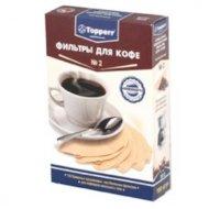 Фильтры для кофеварок TOPPERR 3015 Фильтр бумажный д/кофеварок 100шт