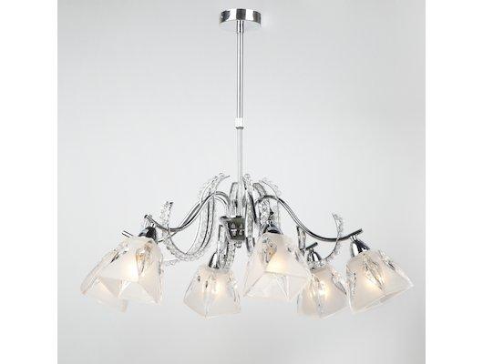 Декоративный светильник Rivoli Livorno-C-6xE14-60W-Chrome