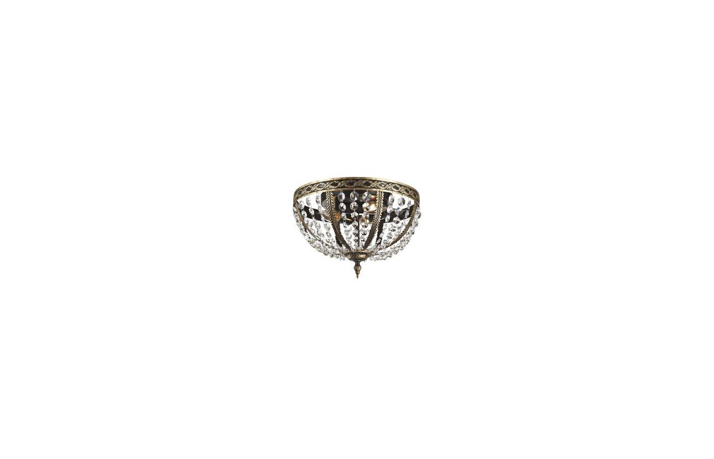 Декоративный светильник Rivoli Grosetta-C-3xE14-60W-Brown copper