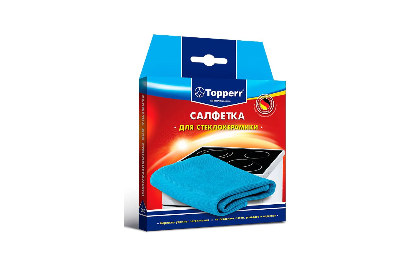 Салфетка TOPPERR 3429 для ухода за стеклокерамикой