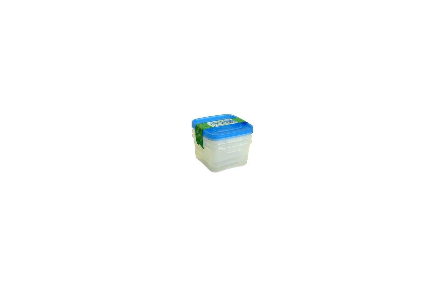 Пластиковая посуда для СВЧ ПОЛИМЕРБЫТ Контейнеры для СВЧ Каскад-2 Квадро 3шт