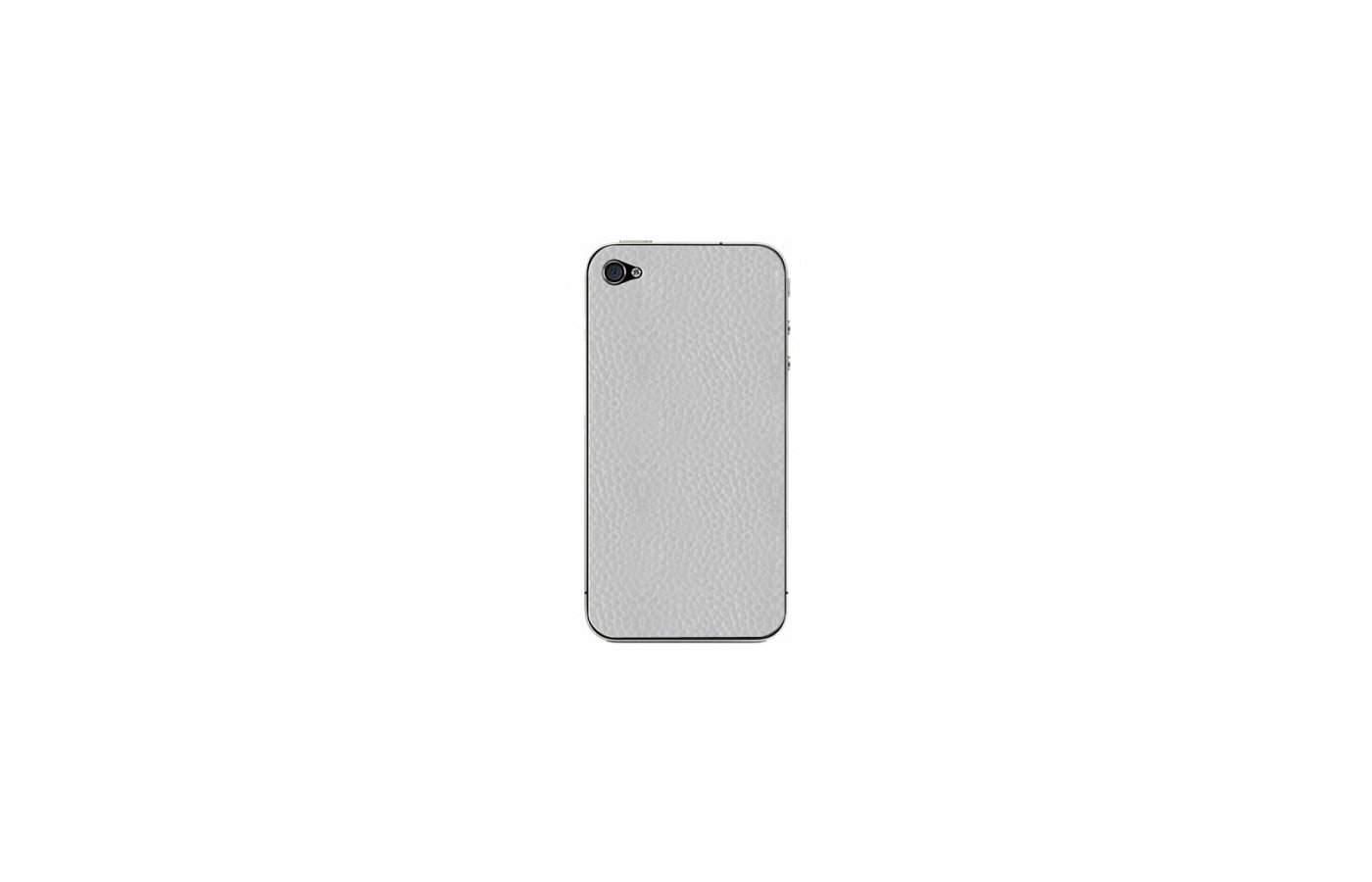 Стекло Clever Skinward для iPhone 4/4S белая