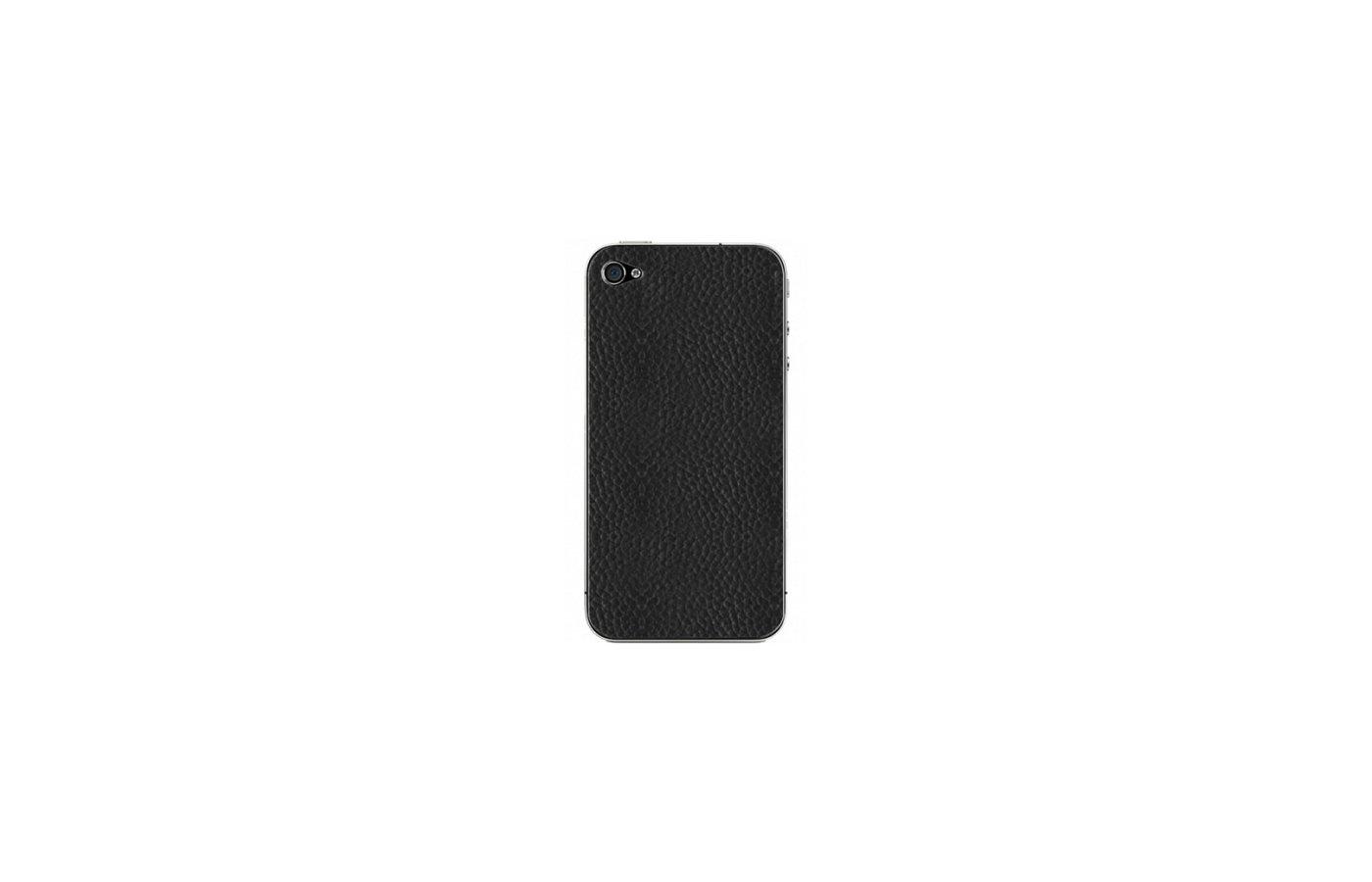 Стекло Clever Skinward для iPhone 4/4S черная