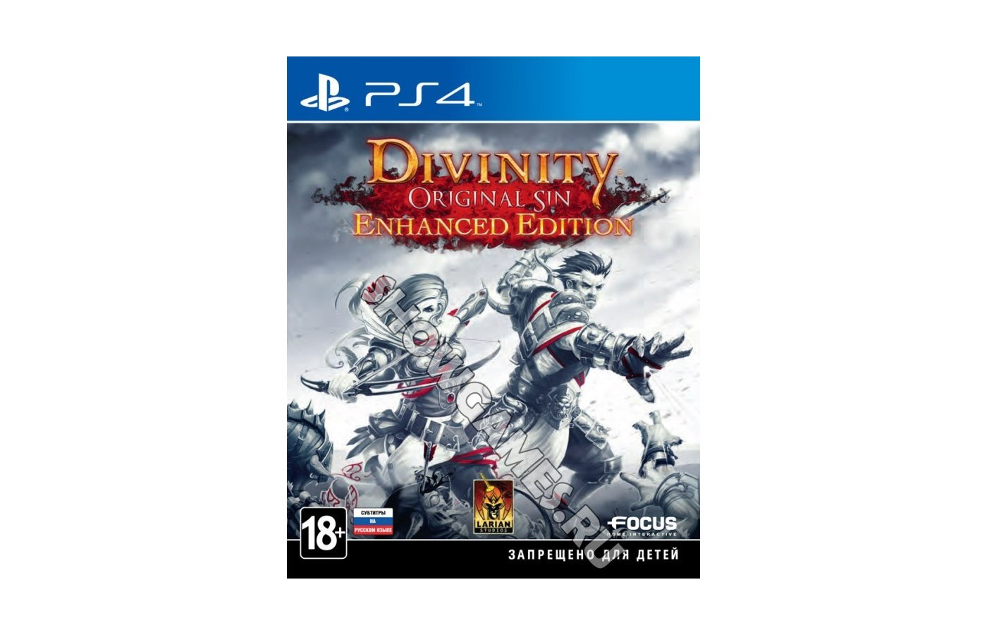 Divinity. Original Sin: Enhanced Edition (PS4 русские субтитры)