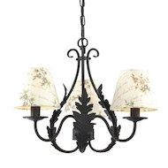 Фото Декоративный светильник Rivoli Ribera-P-3xE14-60W-Black