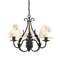 Фото Декоративный светильник Rivoli Ribera-P-6xE14-60W-Black