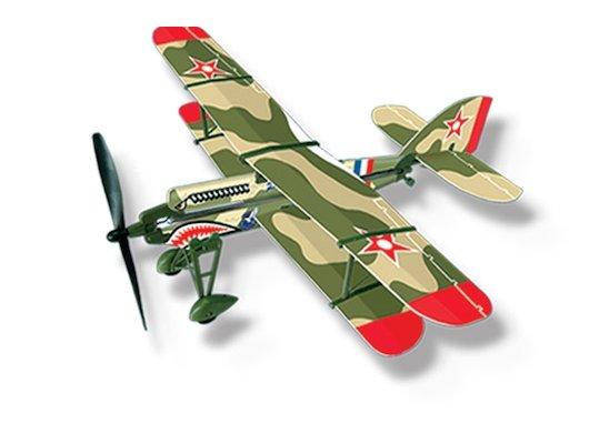 Машинка LYONAEEC 22006(E) Самолет с резиномотором History Plane PW-9 Airplane