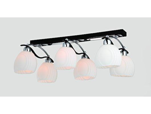 Декоративный светильник Rivoli Tignola-C-6xE14-40W-Chrome
