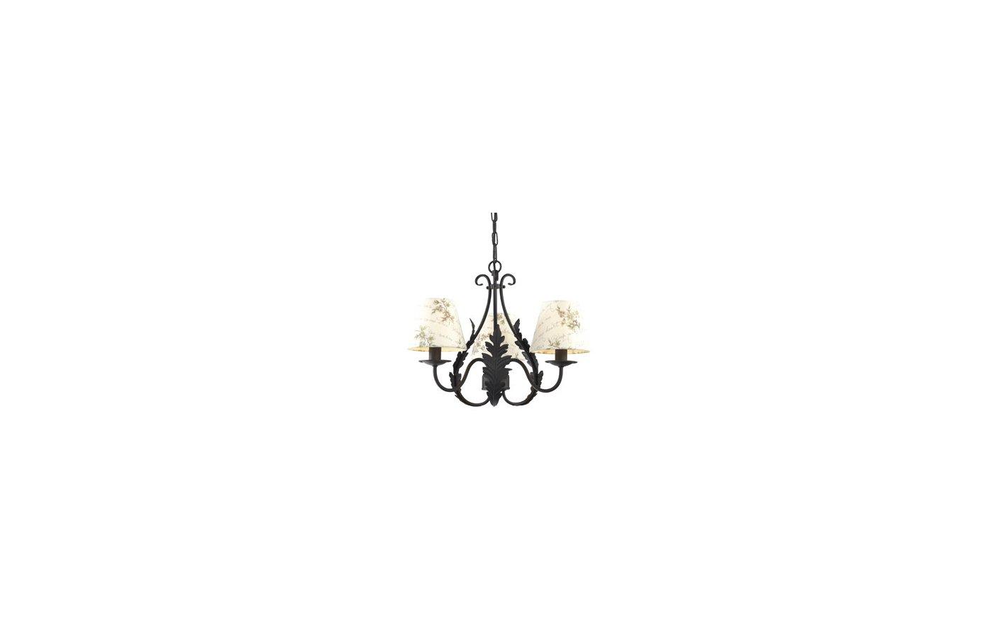 Декоративный светильник Rivoli Ribera-P-3xE14-60W-Black