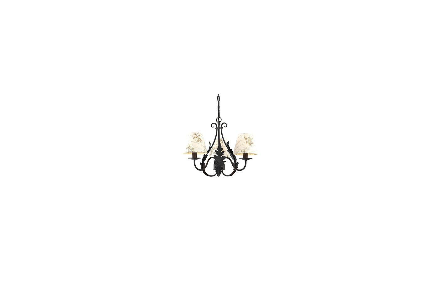 Декоративный светильник Rivoli Ribera-P-6xE14-60W-Black