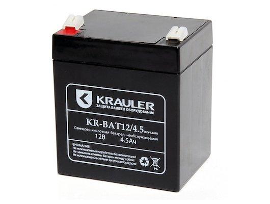 Блок питания KRAULER батарея для ИБП свинцово-кислотная 12В 4.5Ач