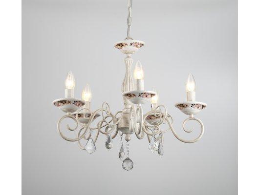 Декоративный светильник Rivoli Vanilla-P-5хE14-60W-Аntique white