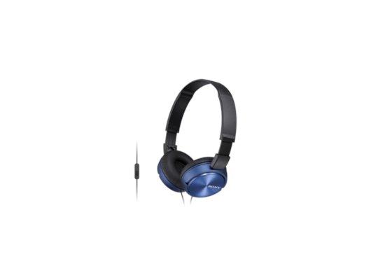 Наушники накладные  SONY MDR-ZX310 синий