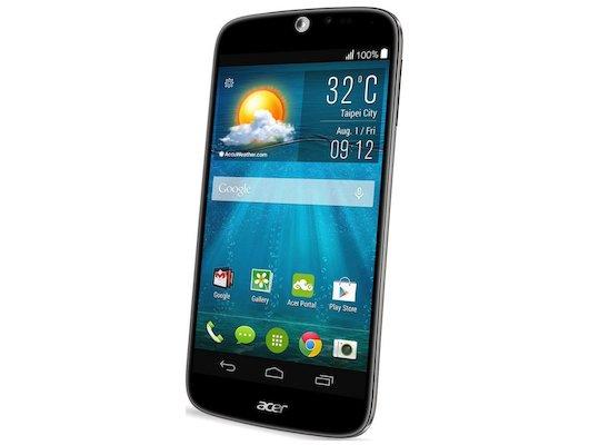 Смартфон Acer Liquid Jade Z S57 черный