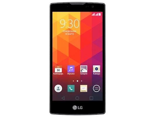 Смартфон LG Spirit H422 titan