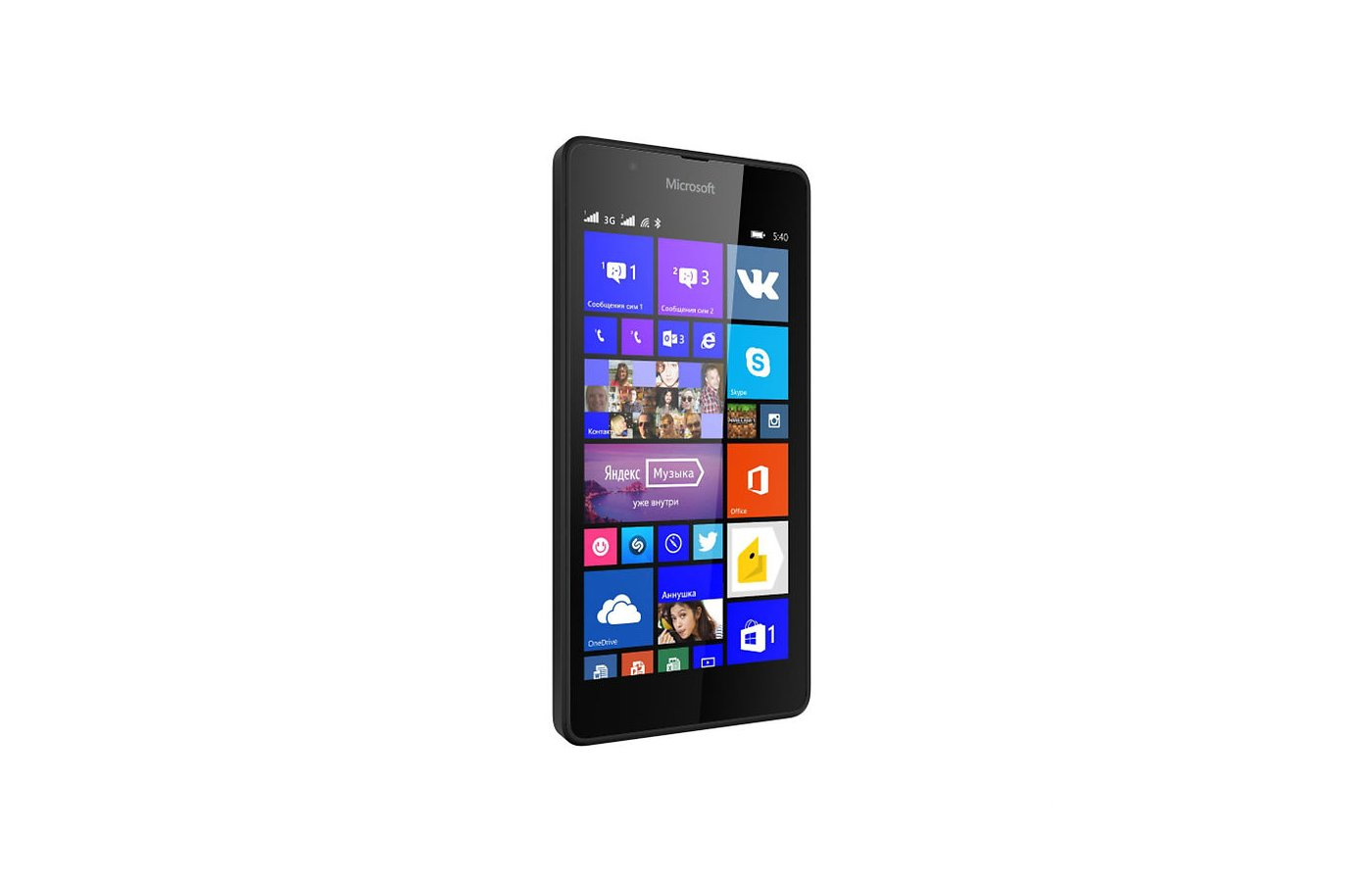 Смартфон Microsoft Lumia 540 DS Black