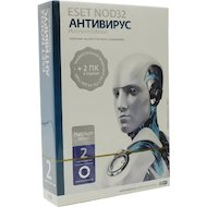 Компьютерное ПО Eset NOD32 Антивирус Platinum Edition - лицензия на 2 года на 3ПК, BOX (NOD32-ENA-NS(BOX)-2-1)