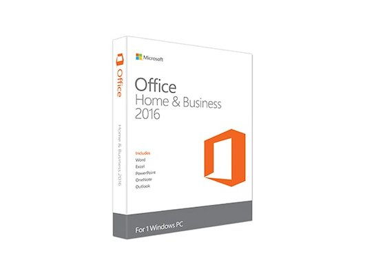 Компьютерное ПО Microsoft Office Home and Business 2016 Rus BOX (T5D-02292)
