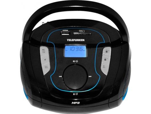Магнитола Telefunken TF-SRP3471B синий
