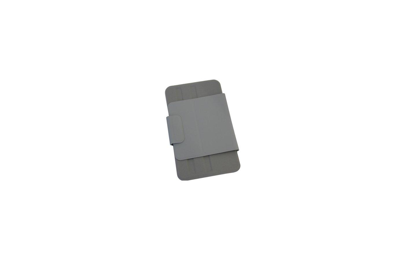 Чехол PocketBook Vigo World U7 кожзам серый