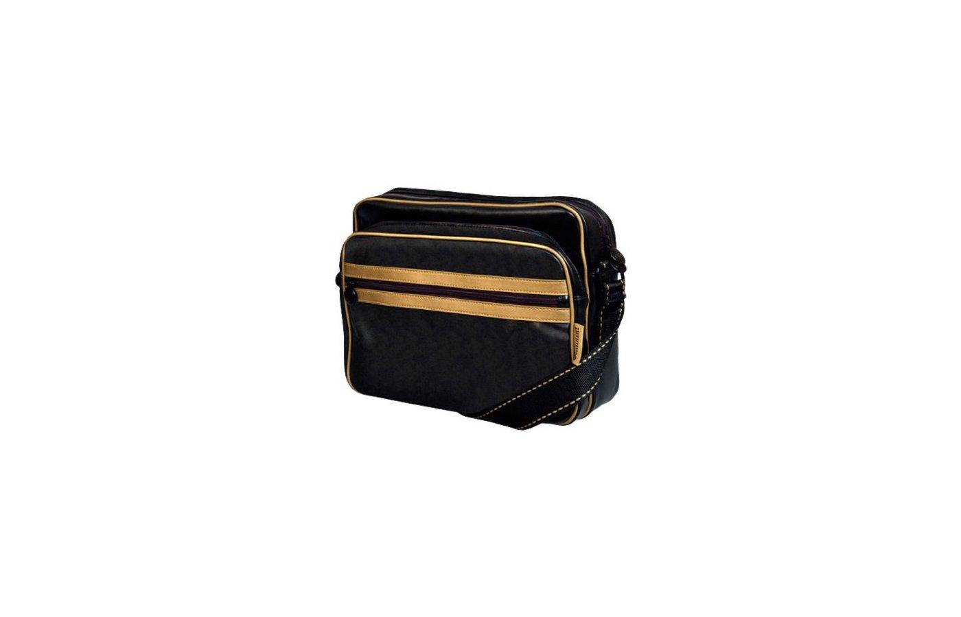 Кейс для ноутбука Continent CC-061 Black/Gold