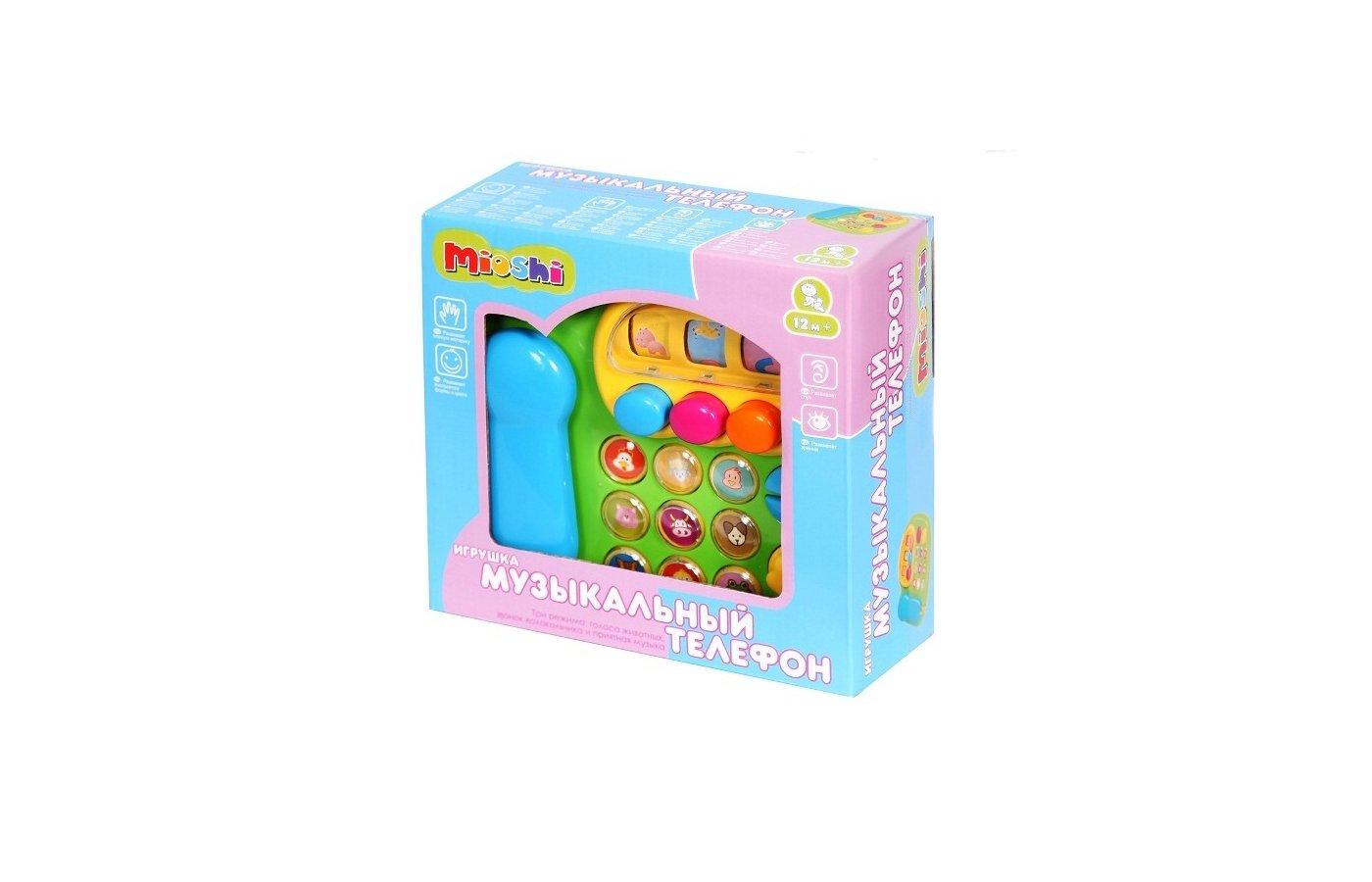 Игрушка Mioshi TY9056 Музыкальный телефон