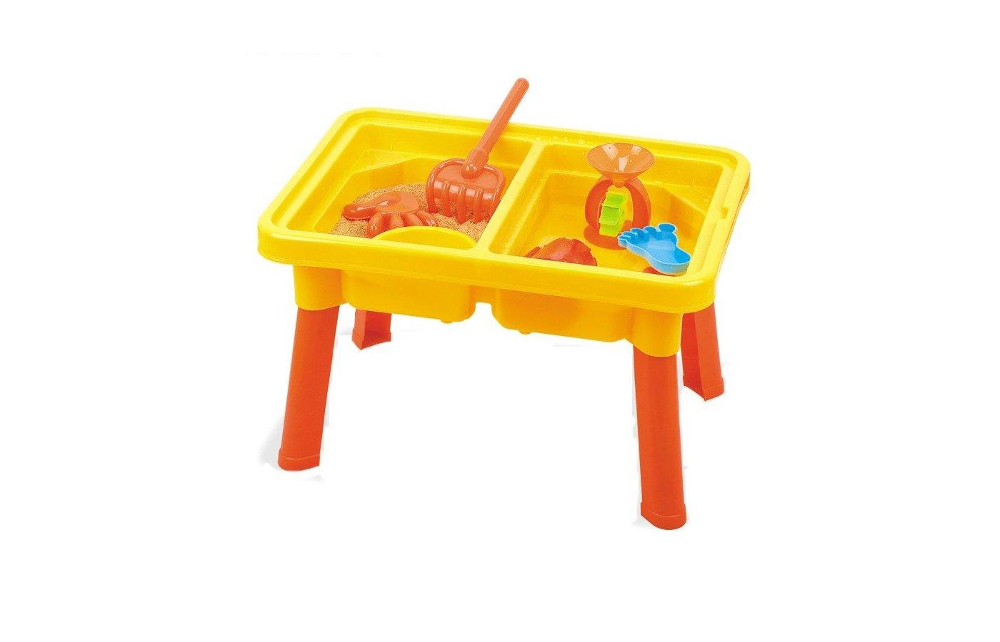 Hualian 8806A Стол с крышкой и стулом для игры с песком и водой Водяная круговерть