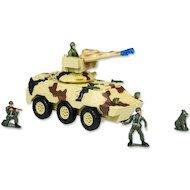 Фото Игрушка Mioshi Army MAR1207-008 Вездеход с пулеметной установкой