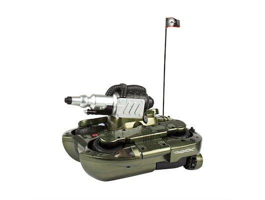 Игрушка Mioshi Army MAR1205-002 Танк-амфибия Гидра-24 зеленый