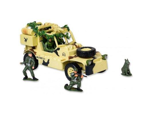 Игрушка Mioshi Army MAR1207-006 Военный джип