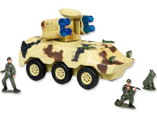 Игрушка Mioshi Army MAR1207-007 Бронетранспортер с радаром и ракетной установкой