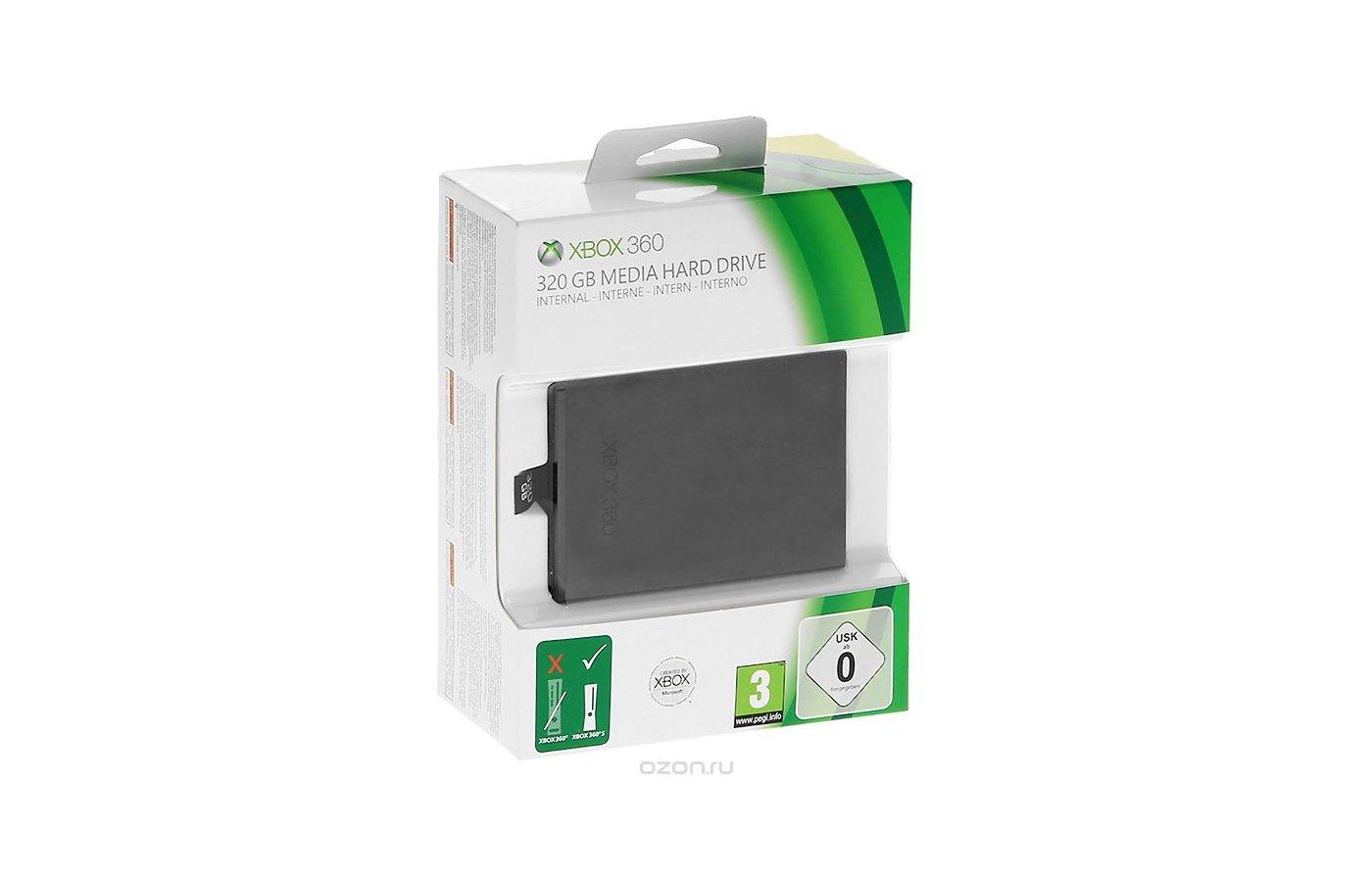 Внешний жесткий диск Microsoft для Xbox 360 (320 Гб)