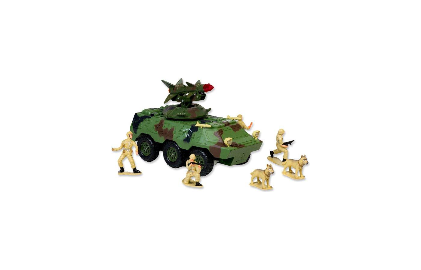 Игрушка Mioshi Army MAR1207-003 Вездеход с ракетой