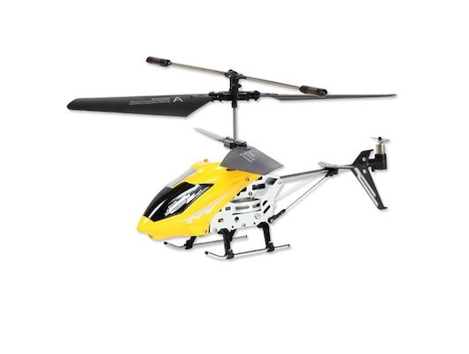 Игрушка Mioshi Tech MTE1202-107Ж и/к Вертолет 107 желтый
