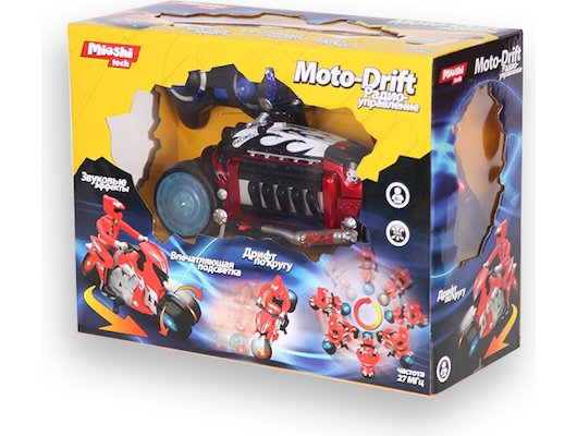 Игрушка Mioshi Tech MTE1203-003 Мотоцикл Moto drift