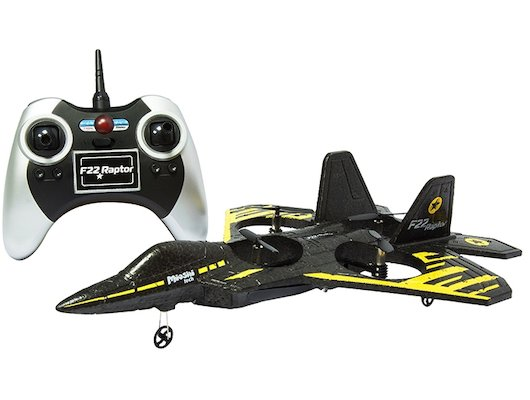 Игрушка Mioshi Tech MTE1206-002 самолет F22 Raptor