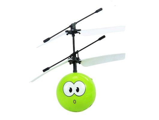 Игрушка Mioshi Tech MTE1209-001 Игрушка летающий шар и/к Зелёненький