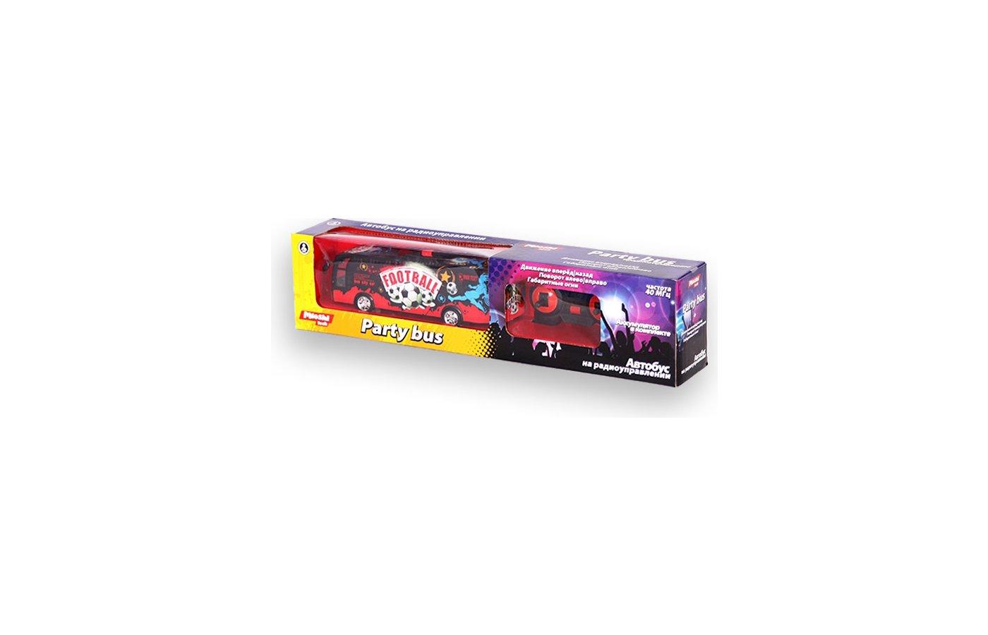 Игрушка Mioshi Tech MTE1201-052 Party bus чёрный