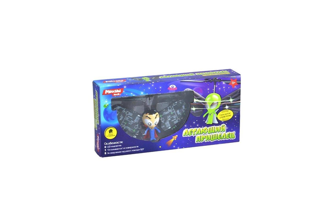 Игрушка Mioshi Tech MTE1209-007 Игрушка летающий пришелец и/к Лунатик