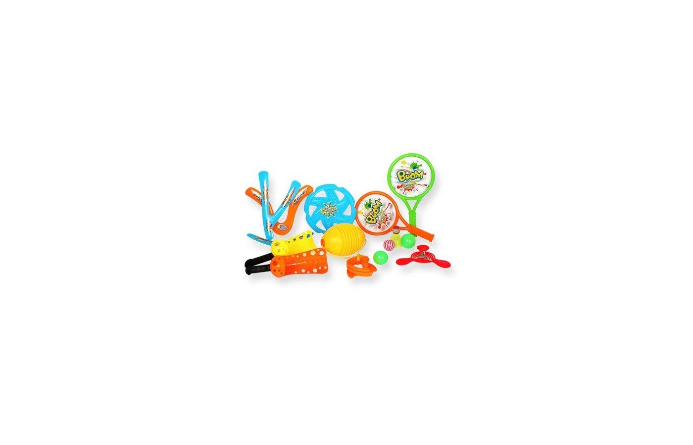 Игра YG Sport YG19W Игровой набор для детей 4 в 1